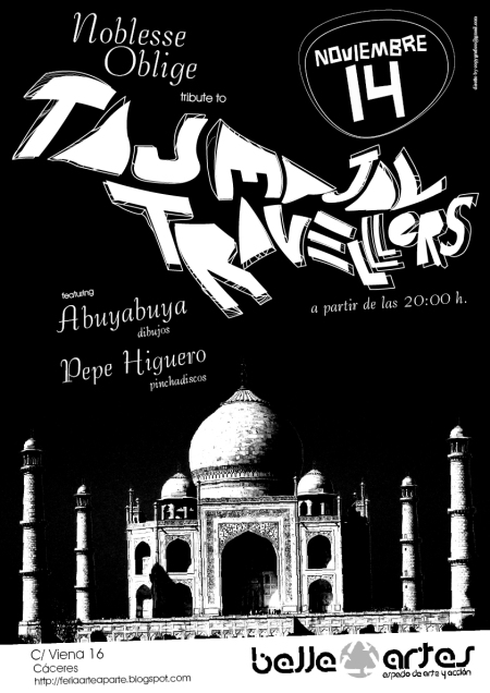 noblesse oblige TAJ MAHAL TRAVELLERS